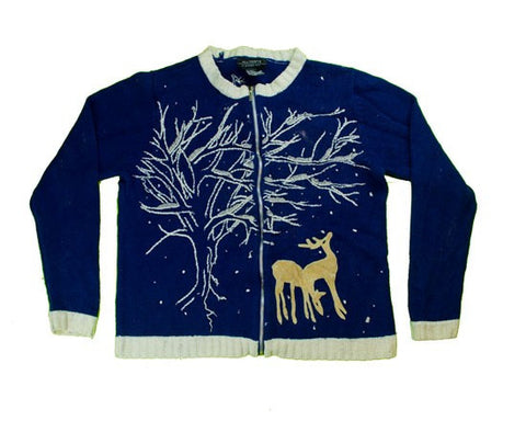 Under The Old Oak Tree-Small Christmas Sweater