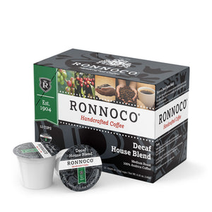 Ronnoco One Cup Decaf House Blend