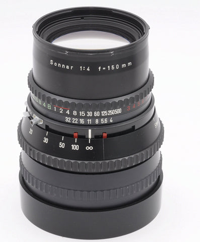 HASSELBLAD 150/4 SONNAR C T* LENS, MINT CONDITION