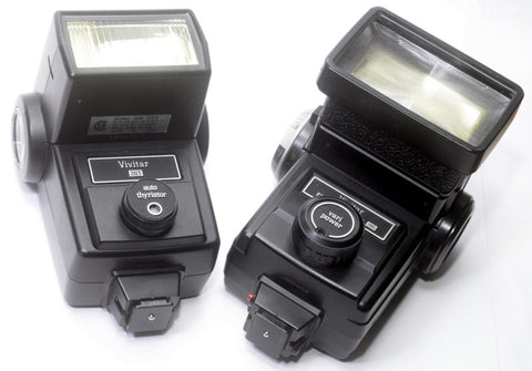 VIVITAR 283 or 285 FULL POWER ELECTRONIC FLASH
