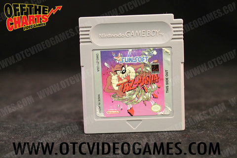 Taz-Mania Game Boy Game Off the Charts