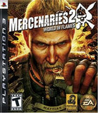 Mercenaries 2 World in Flames Playstation 3 Game Off the Charts