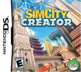 Sim City Creator Nintendo DS Game Off the Charts