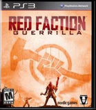 Red Faction Guerrilla Playstation 3 Game Off the Charts