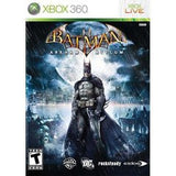 Batman: Arkham Asylum Game of the Year Edition Xbox 360 Game Off the Charts