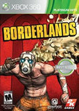 Borderlands Xbox 360 Game Off the Charts