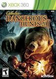 Cabela's Dangerous Hunts 2011 Xbox 360 Game Off the Charts