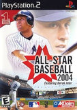 All Star Baseball 2004 Playstation 2 Game Off the Charts
