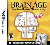 Brain Age Nintendo DS Game Off the Charts