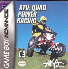 ATV Quad Power Racing Game Boy Advance Game Off the Charts