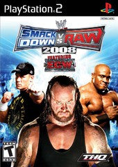 Smack Down Vs. Raw 2008 Playstation 2 Game Off the Charts