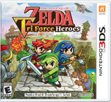 The Legend of Zelda: TriForce Heroes Nintendo 3DS Game Off the Charts