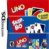 Uno SkipBo Freefall Nintendo DS Game Off the Charts
