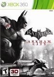 Batman: Arkham City Xbox 360 Game Off the Charts