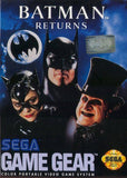 Batman Returns Game Gear Game Off the Charts