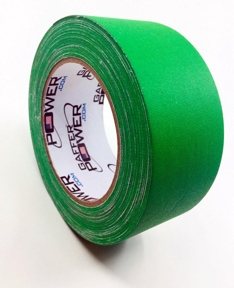 Gaffer Power Gaffer Tape, 2 In x 30 Yds - Chroma Green