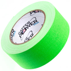 Gaffer Power Gaffer Tape, 2 Inch x 30 Yards - Fluorescent Green