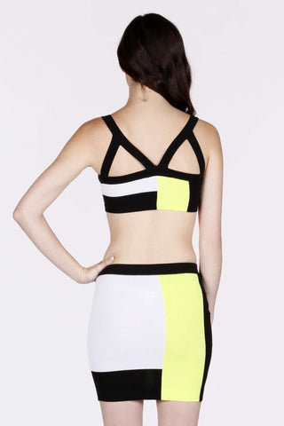 Vegas Two-Piece Bandage Dress