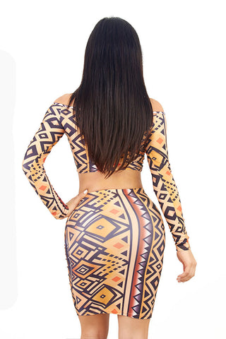 Tribal Two Piece Dress
