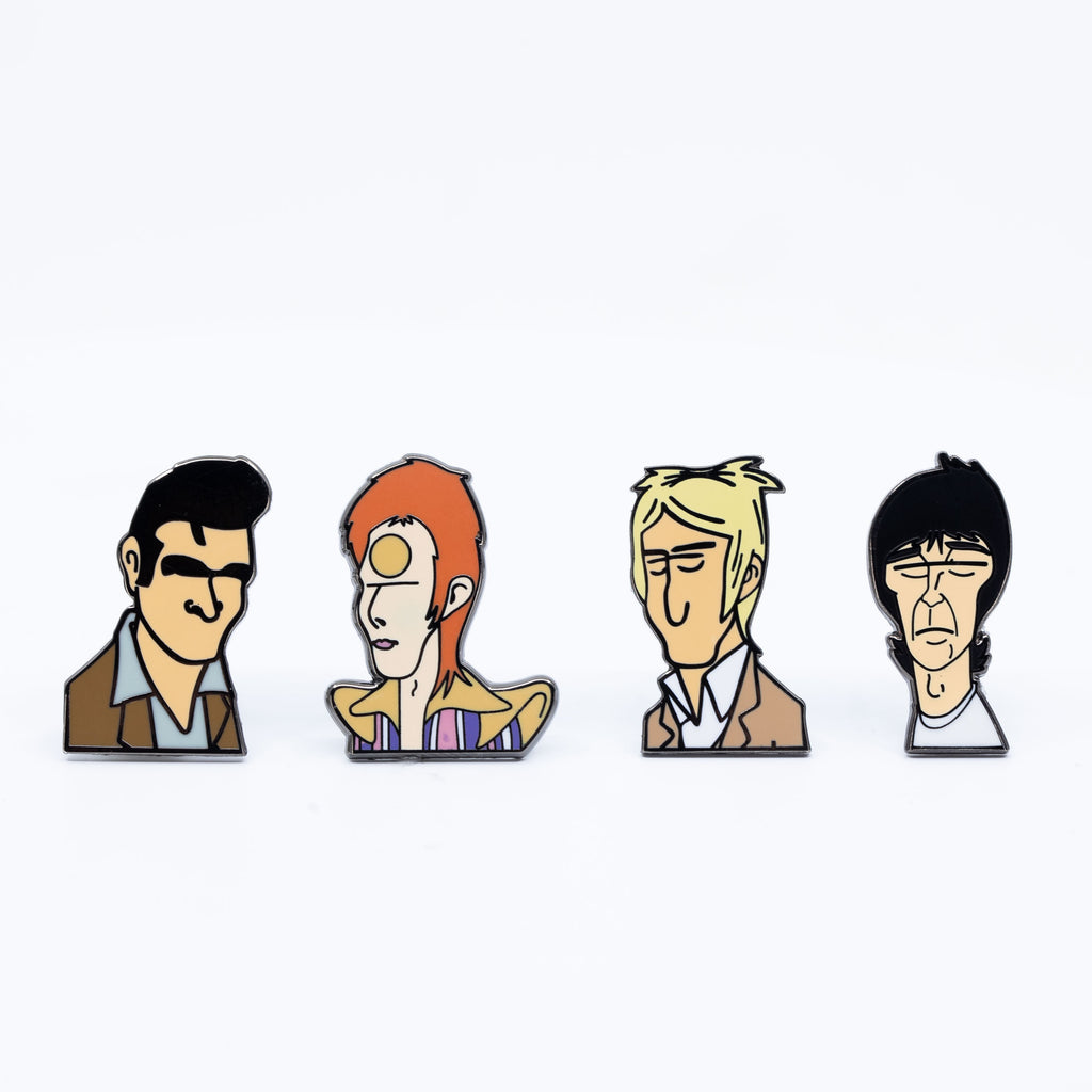 Music Legends Vol: 1 Pin Badges