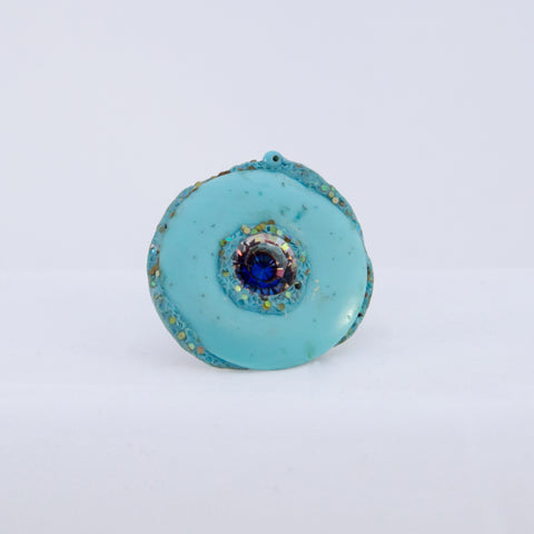 Blue eye ring, 2012