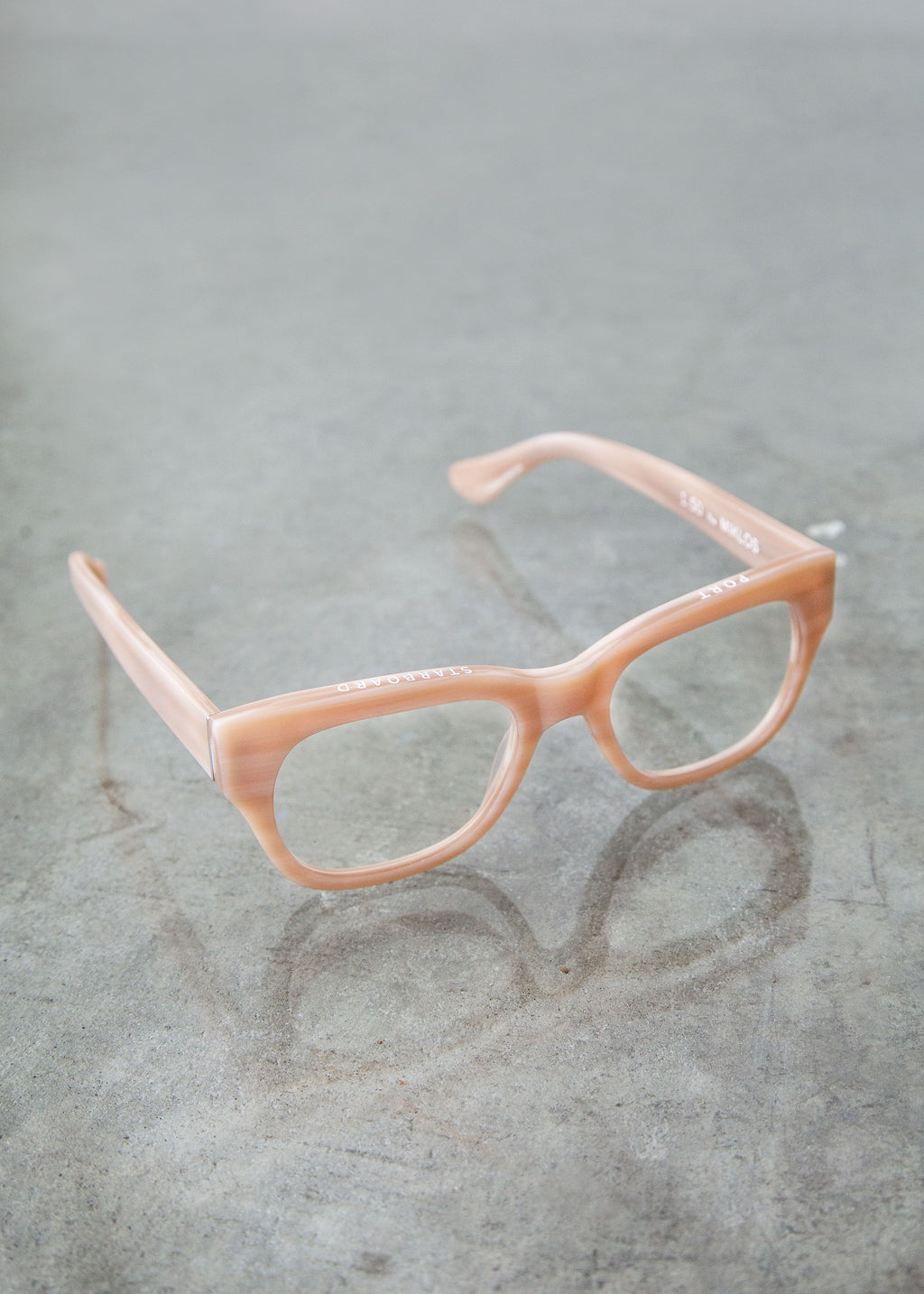 Miklos Readers in Bone White - SOLD OUT