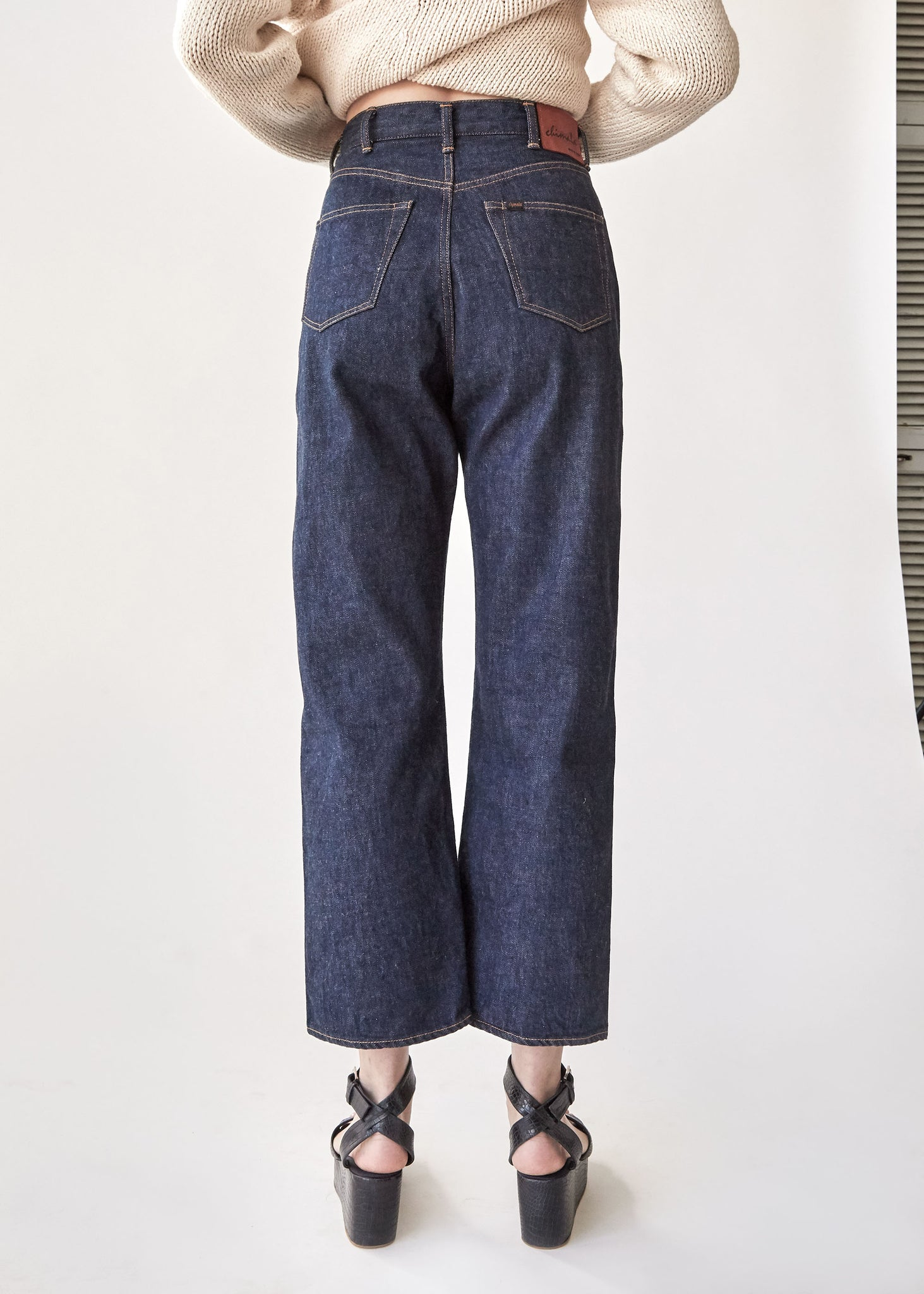 Monroe Cut Denim in 13 oz Rinse - SOLD OUT