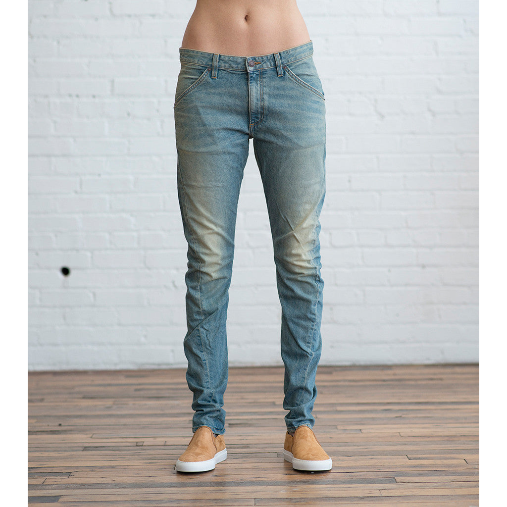 6397 - 6397 Twisted Seam Jean Classic Used Blue - SOLD OUT  -  Finefolk - 5