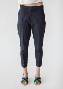 Law Trouser in Faded Black