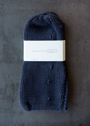 Puffy Bootie Cotton Navy - SOLD OUT