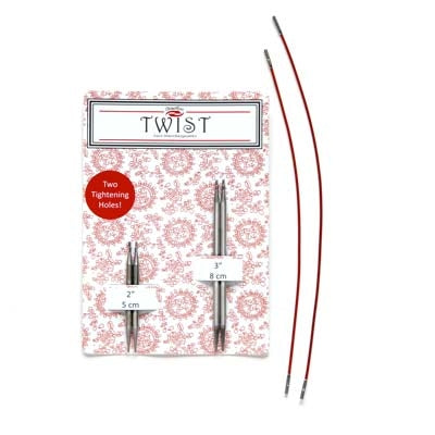 Twist Interchangeable Shortie Needle Combo Pack