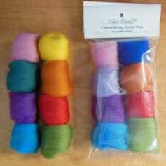 Roving Coloured Variety pack
