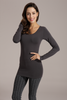 Bamboo Top- Long Sleeve One Size