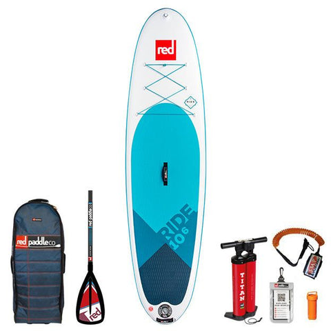 2019 Red Paddle Co 10'6 RIDE PACKAGE Alloy 3pc