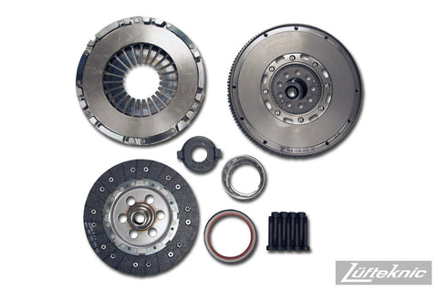 Clutch and flywheel kit, direct replacement w/ dual mass flywheel - Porsche 911 C2 / C4 3.6 type 964, 993