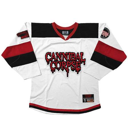CANNIBAL CORPSE 'GOAL OBSESSED' HOCKEY JERSEY