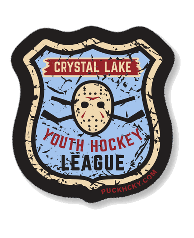 FIRST JASON 'VOORHEES HOCKEY SCHOOL' HOCKEY STICKER