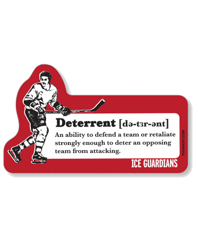 ICE GUARDIANS 'ULTIMATE TEAMMATE' HOCKEY STICKER