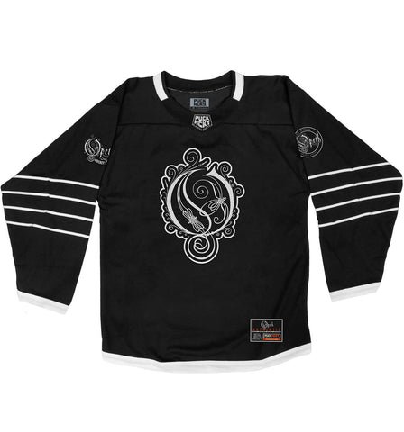 MESHUGGAH 'HOCKEY KLUBB' HOCKEY JERSEY (BLACK)
