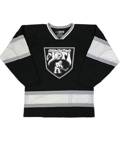 ALL HAIL THE YETI 'SASQUATCH SKATE' HOCKEY JERSEY