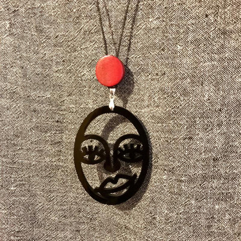 hand made in West Australia - Picasso Style Necklace