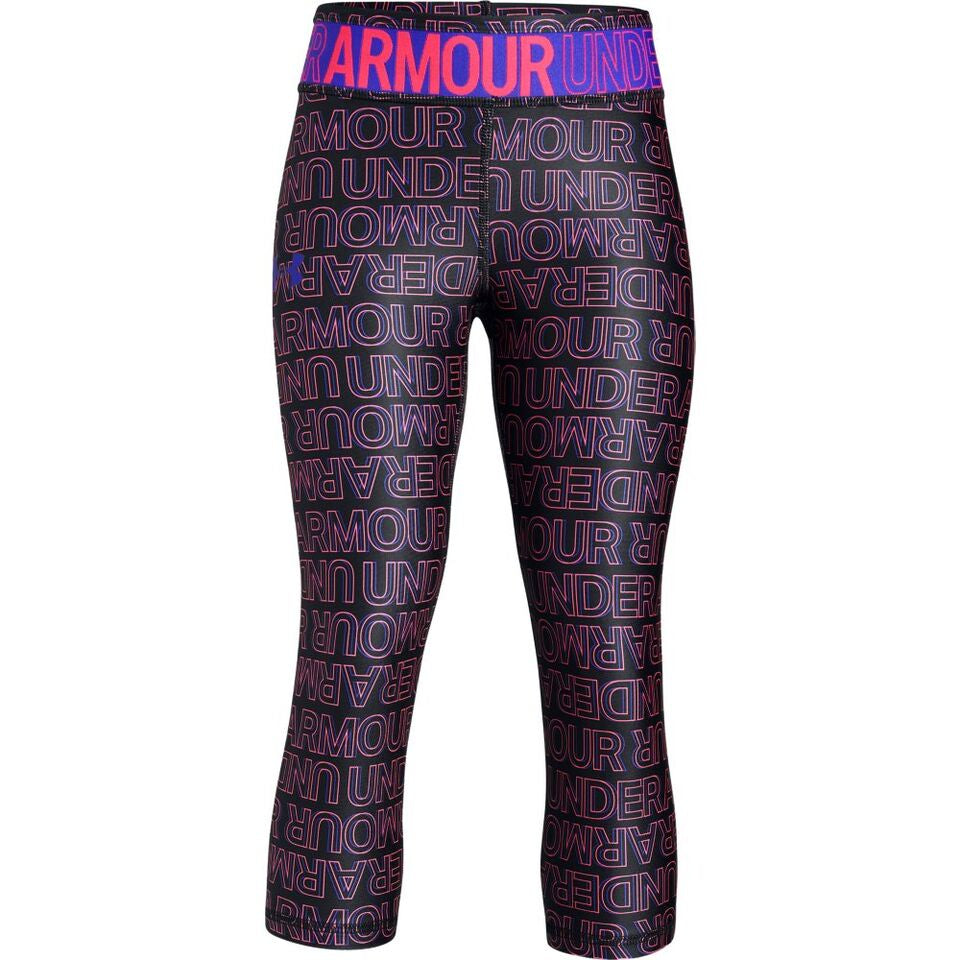 Under Armour Girls HeatGear Novelty Capri