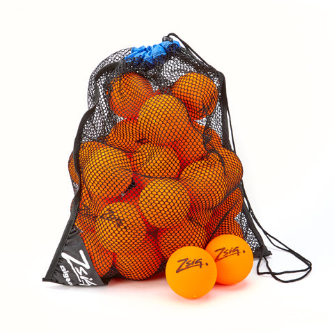 Zsig MP9 Tough Guy Bag of 48 9cm balls in Orange