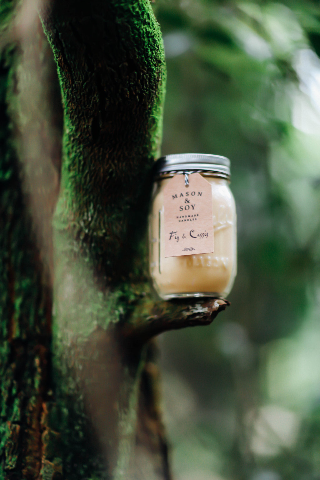 Ball Mason Jar (437mls) Scented Soy Candle