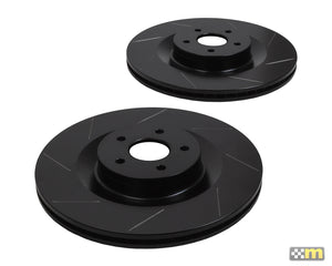 Front Grooved Discs (pair) - RS
