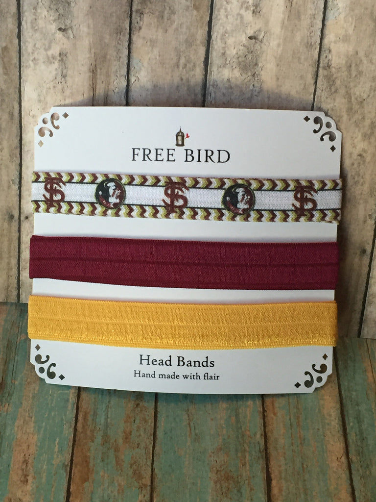 Free Bird Florida State Headbands