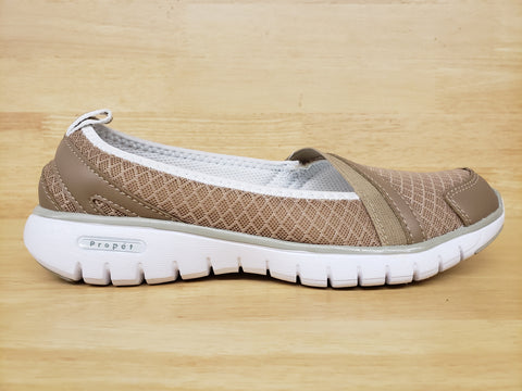 Propet Travellite Slipon Taupe