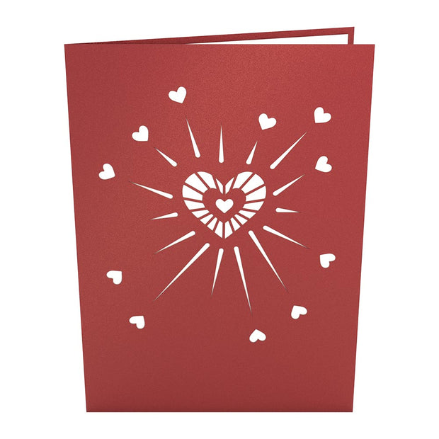 Love Explosion Pop Up Valentine's Day Card