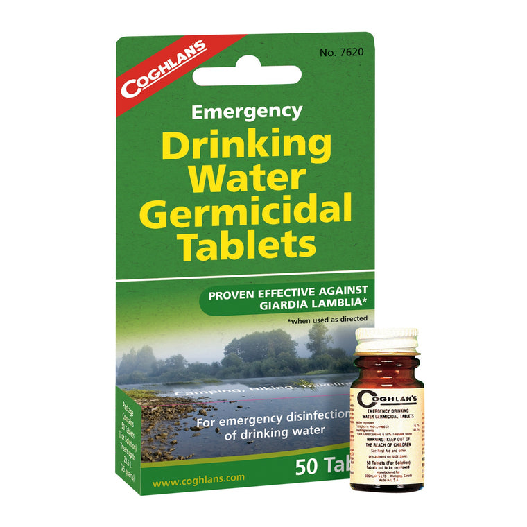 Water Purification Tablets, 1-Step