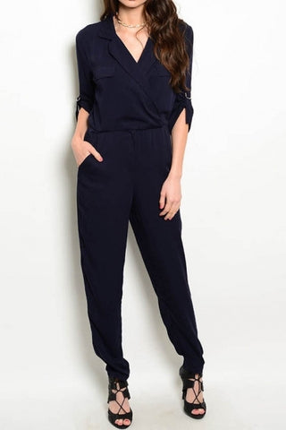 J-Cargo Jumpsuit With Pockets
